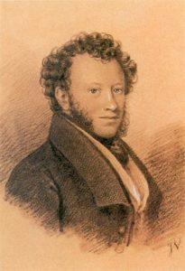 И. И. Вивьен. 1826. Пушкин