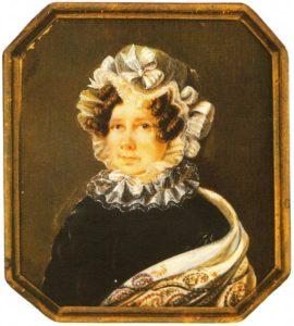 волконские, мельгунова, портрет