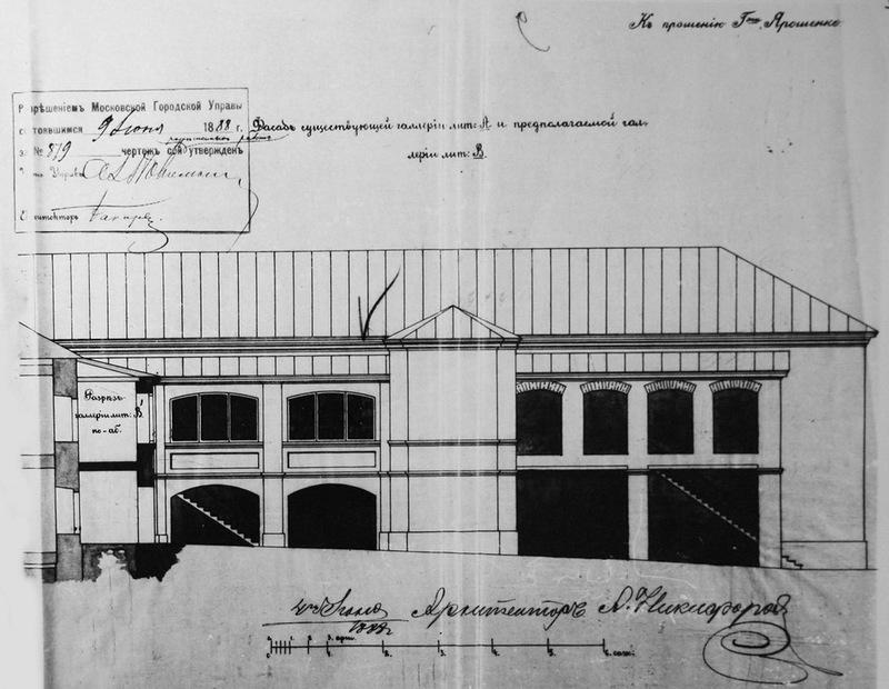 галереи, дом ярошенко, 19 век, хитровка, гальдерейки