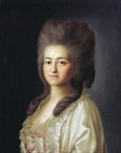 миропольский, портрет, мельгунова, волконские