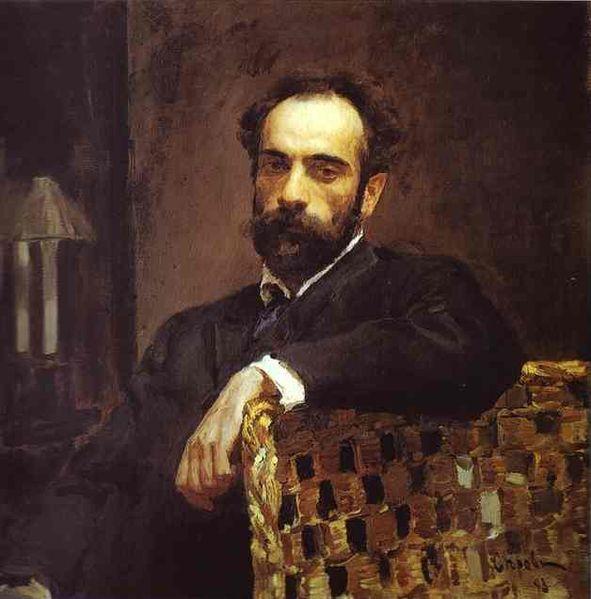 серов, левитан, портрет, третьяковская галерея
